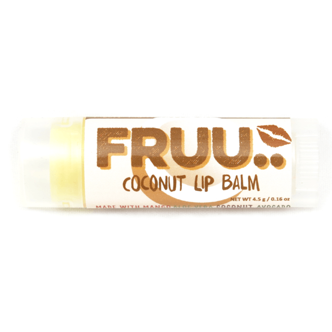 FRUU Coconut Lip Balm-Perfect Pamper Gifts