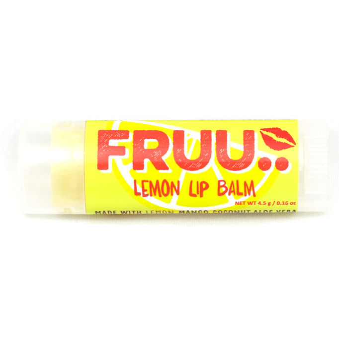 FRUU Lemon Lip Balm-Perfect Pamper Gifts