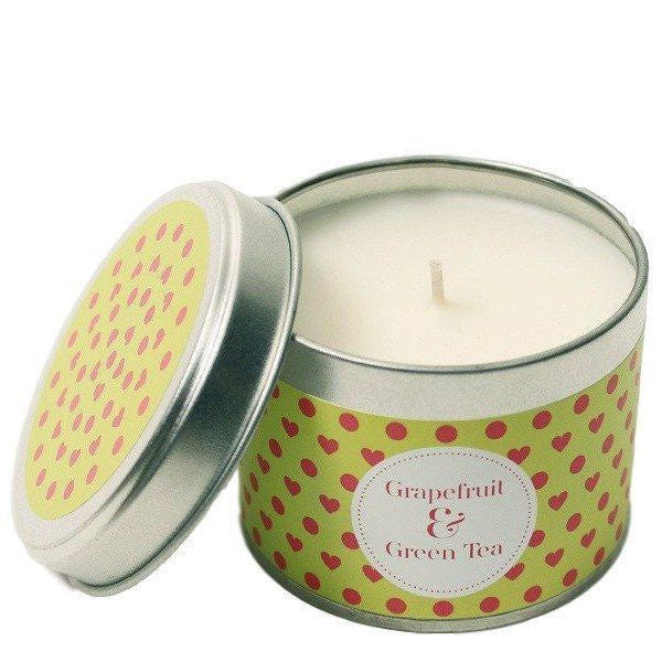 Grapefruit & Green Tea Scented Candle-Perfect Pamper Gifts
