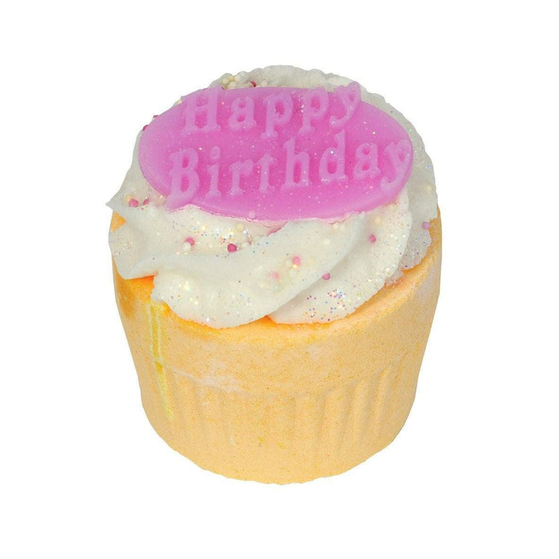 Happy Birthday Cupcake Bath Bomb-Perfect Pamper Gifts