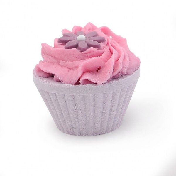 Lavender Jubilee Cupcake Bath Bomb-Perfect Pamper Gifts