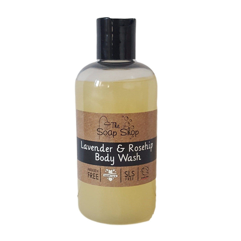 Lavender & Rosehip Body Wash-Perfect Pamper Gifts
