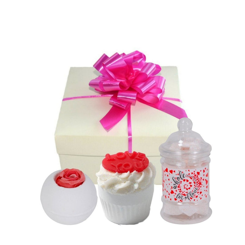 Love Is In The Air Bath Bomb Gift Set-Perfect Pamper Gifts