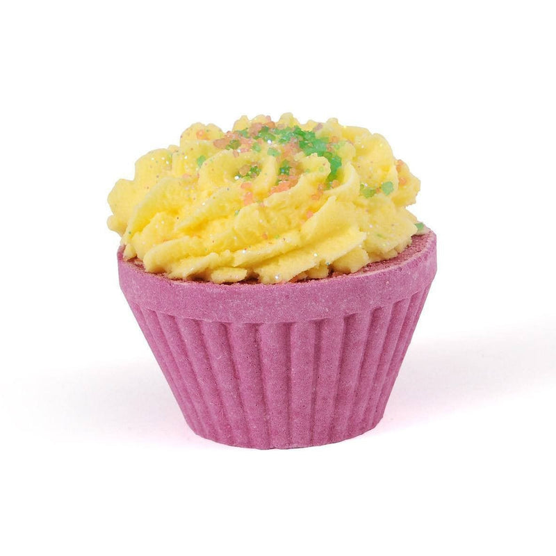 Rhubarb & Custard Cupcake Bath Bomb-Perfect Pamper Gifts