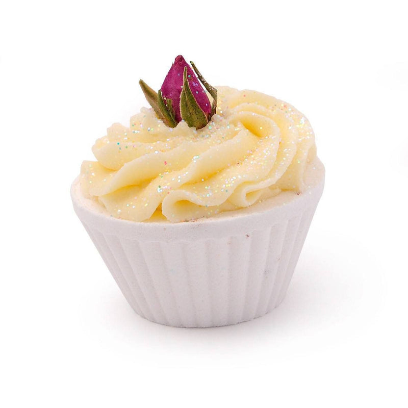 Rose Sherbet Cupcake Bath Bomb-Perfect Pamper Gifts