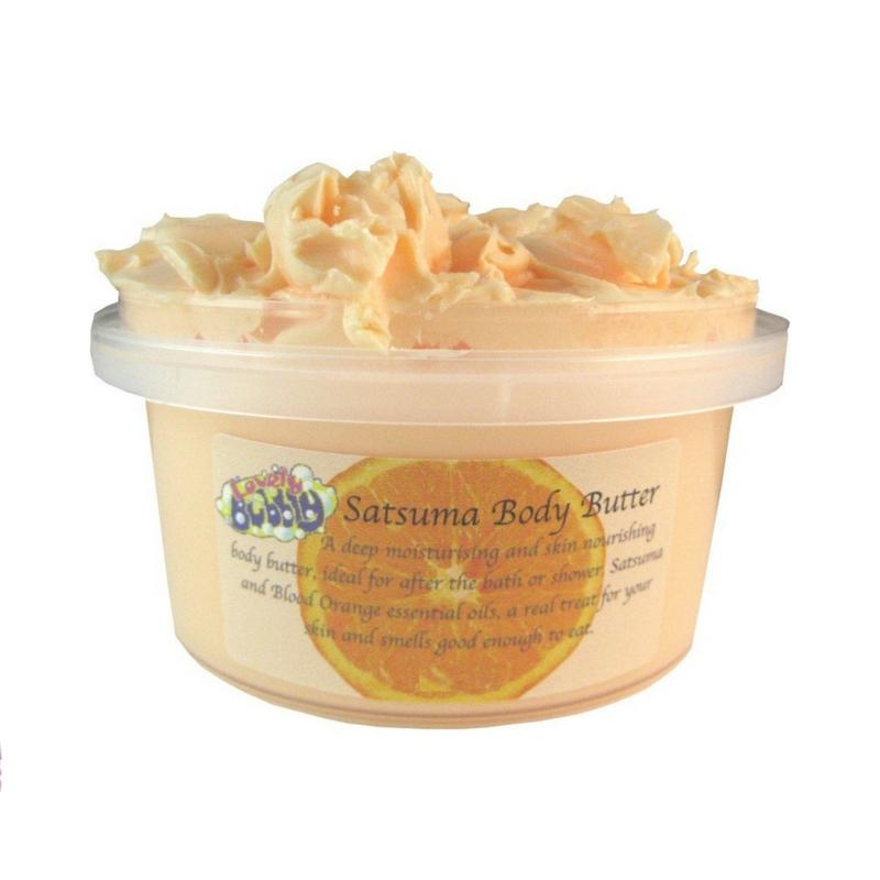 Satsuma Body Butter-Perfect Pamper Gifts