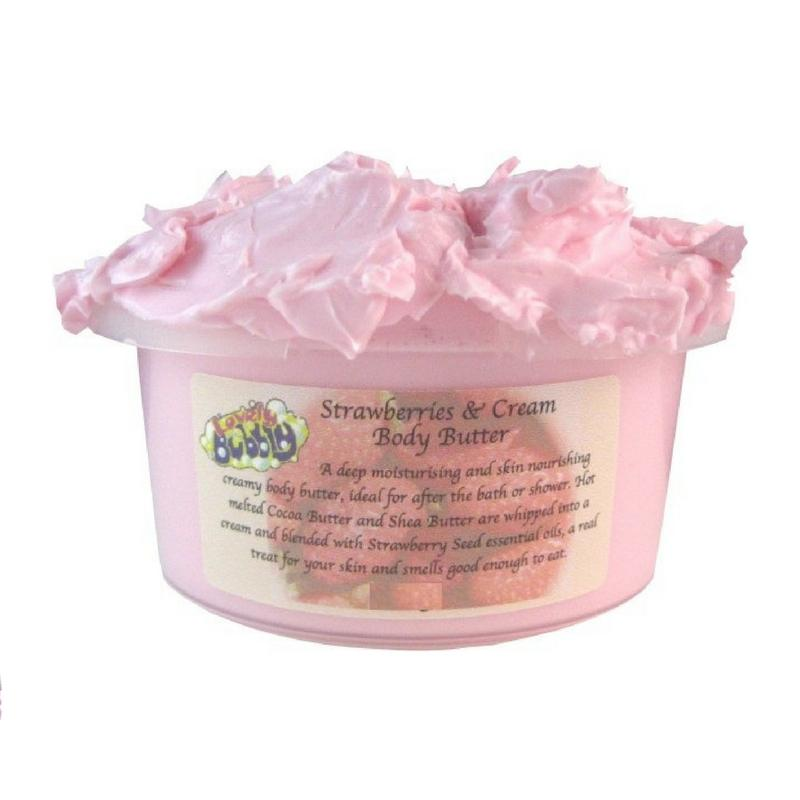 Strawberry Body Butter-Perfect Pamper Gifts