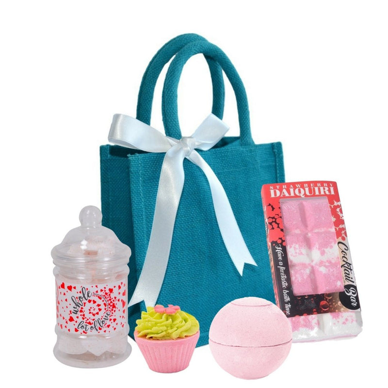 Strawberry Daiquiri Bath Bomb Gift Set-Perfect Pamper Gifts