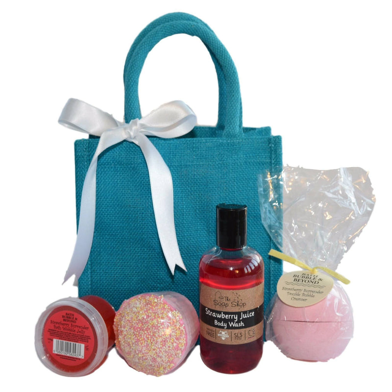 Strawberry Delight Pamper Hamper-Perfect Pamper Gifts