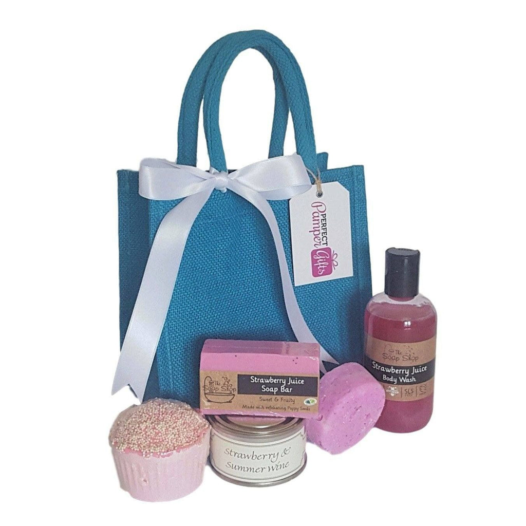 Strawberry Juice Pamper Hamper-Perfect Pamper Gifts