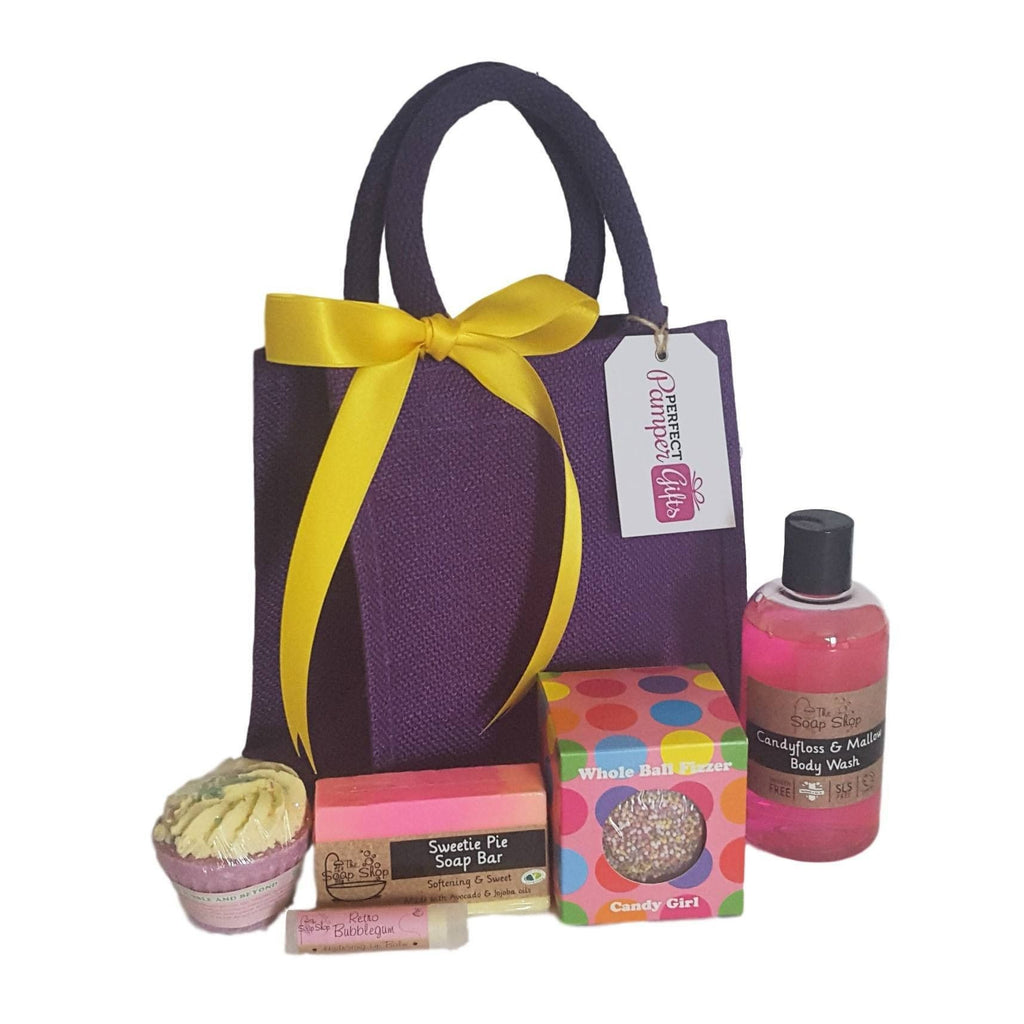 Sweet Shop Delights Pamper Hamper-Perfect Pamper Gifts
