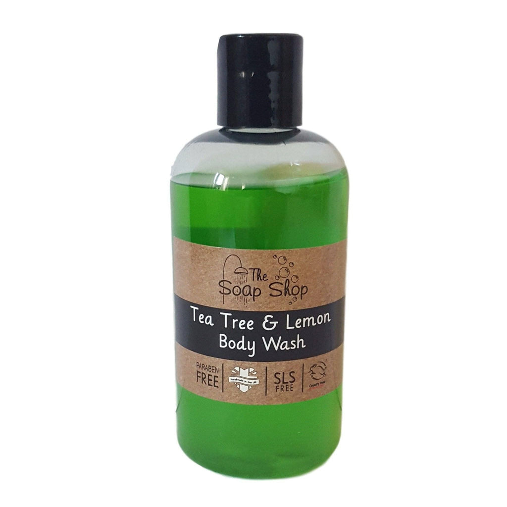 Tea Tree & Lemon Body Wash-Perfect Pamper Gifts