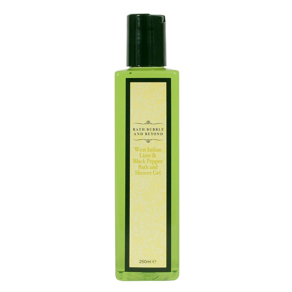 West Indian Lime & Black Pepper Luxury Bubble Bath & Shower Gel-Perfect Pamper Gifts