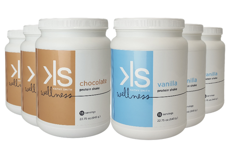 Kathy Smith Wellness Shake - 6 Bottles