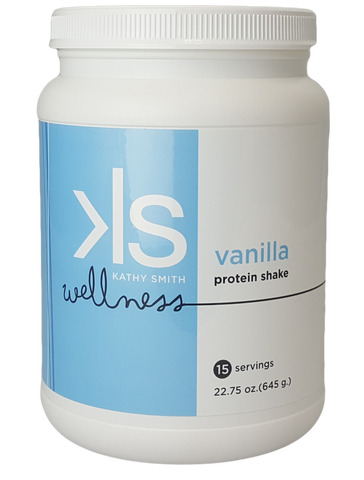Kathy Smith Wellness Shake - Vanilla - 1 Bottle