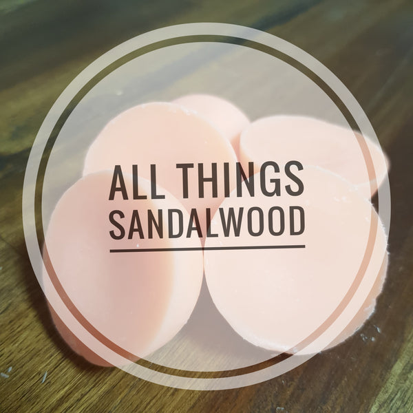 The Sandalwood Collection - standard melt 6 pack