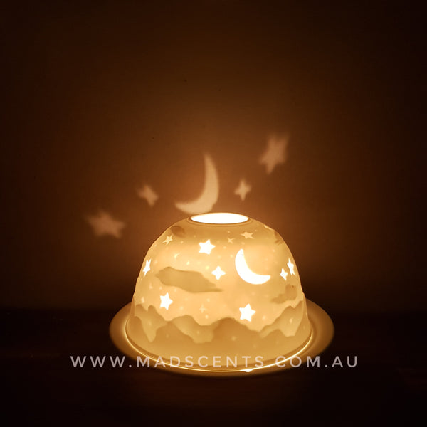 Night sky Tealight Dome