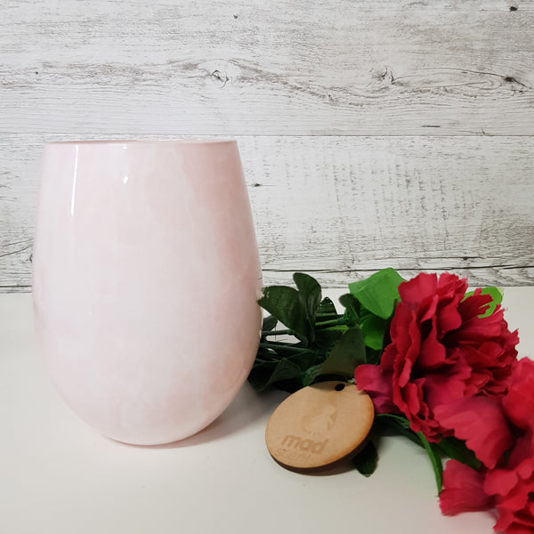 Marshmallow - Baby Pink Stemless Candle