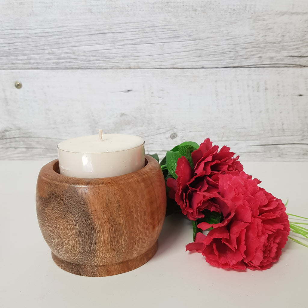 Timber Maxi Tealight Holder