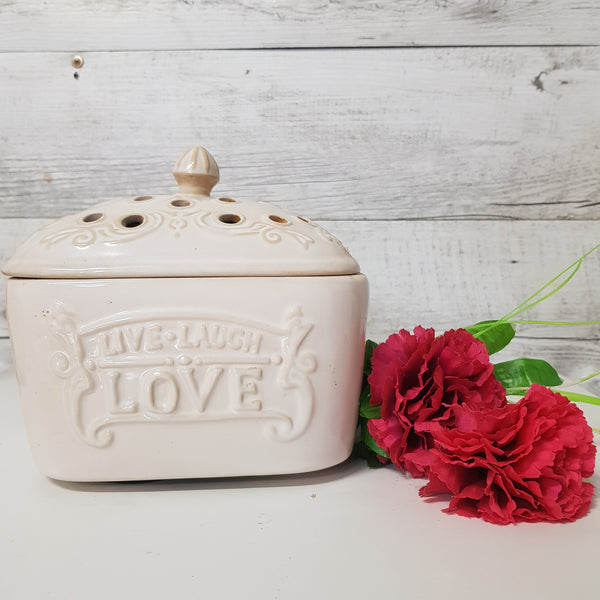 Live Laugh Love Candle Aire Fan Fragrance Warmer
