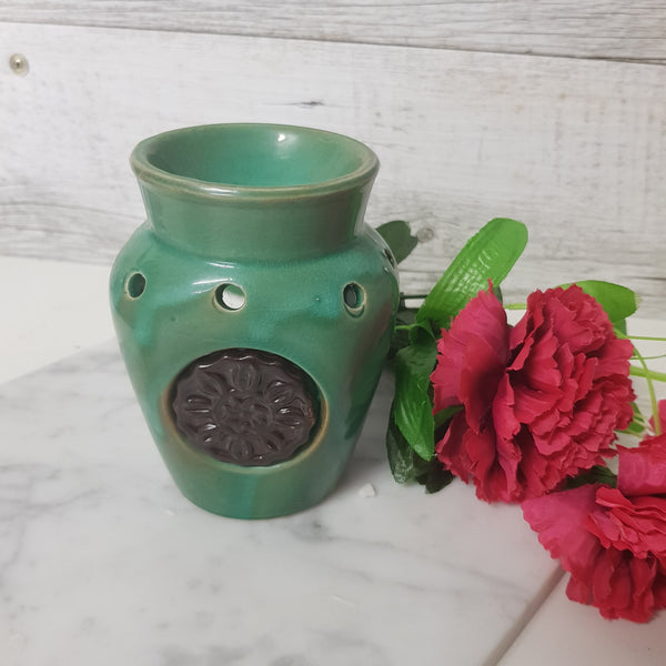 Jade Ceramic Tealight Oil Burner