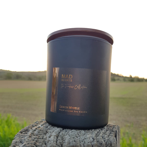 Timeless Collection - Matte Black Double Wick Candle