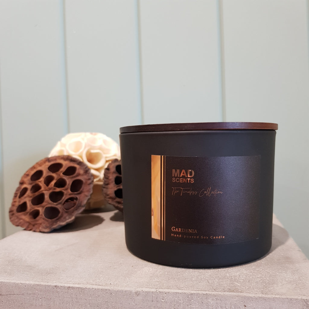Timeless Collection - Matte Black Triple Wick Candle