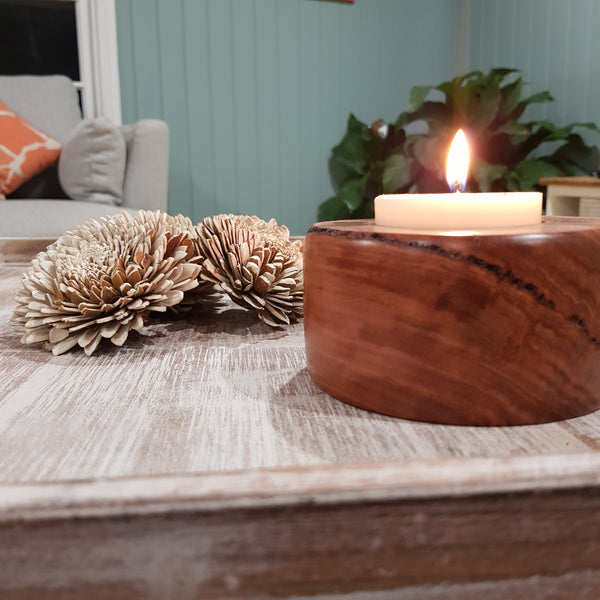 Smooth Finish Timber Maxi Tealight Holder