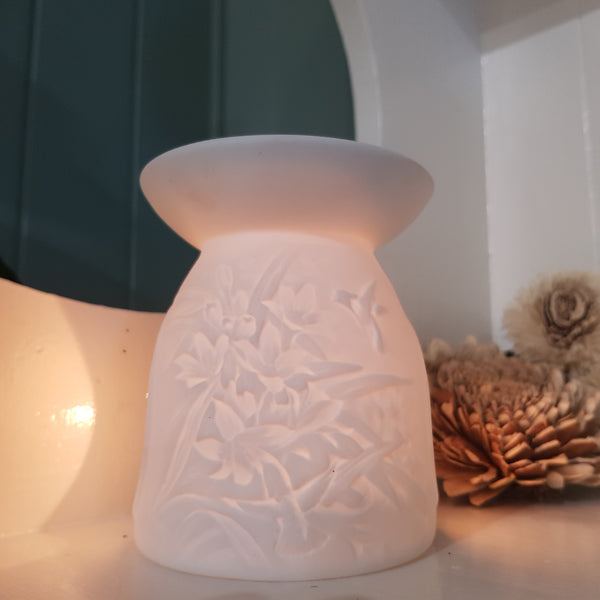 Hummingbird Ceramic Tealight Warmer