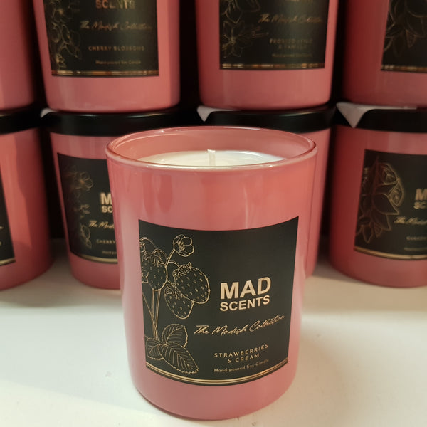 Standard Pink Candle - The Modish Collection