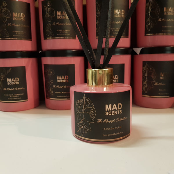 Strawberries & Cream - Modish Pink Reed Diffuser (120ml)