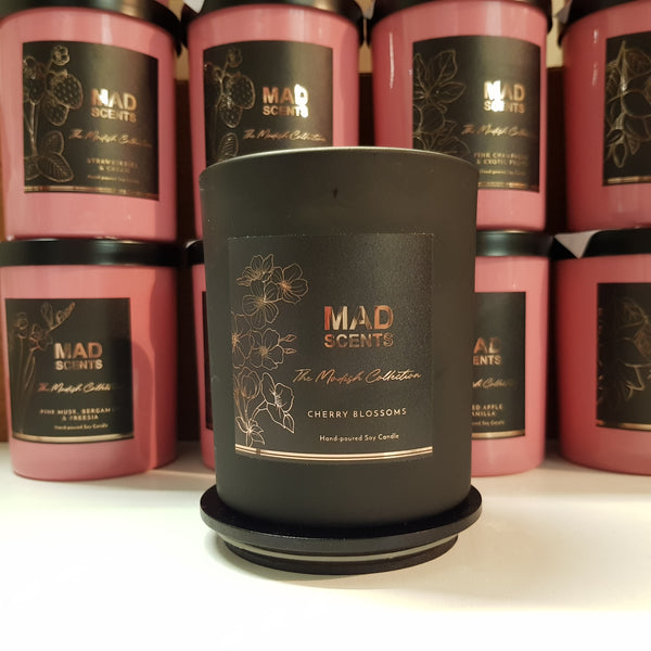 Matte Black Double Wick Candle - The Modish Collection