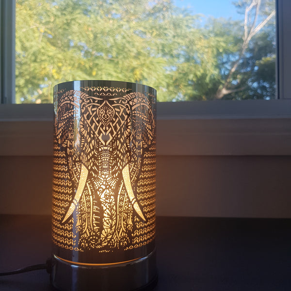 Silver Elephant - Touch Lamp Electric Warmer