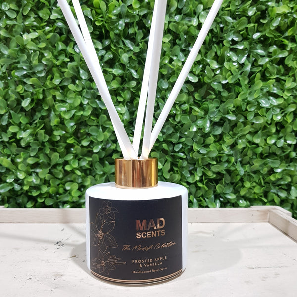 Pink Champagne & Exotic Fruits - Modish White Reed Diffuser (120ml)
