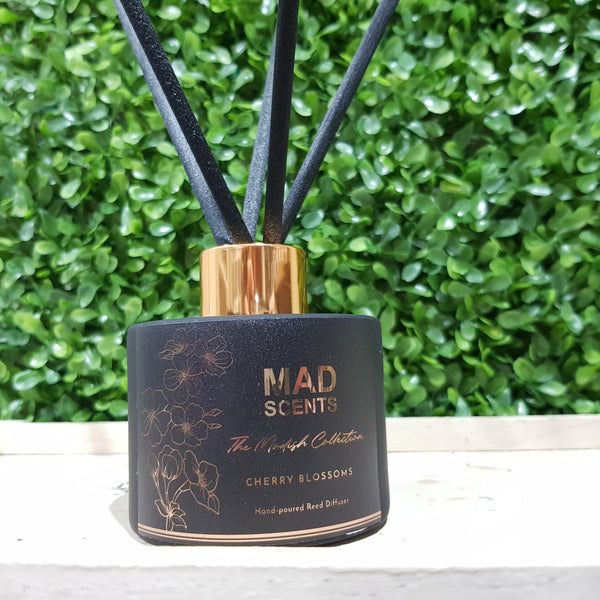 Strawberries & Cream - Modish Matte Black Reed Diffuser (120ml)