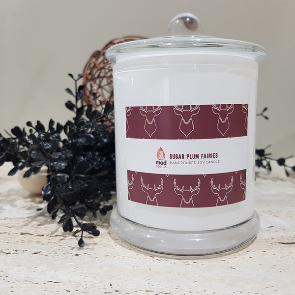 Sugar Plum Fairies Signature Candle (Large)