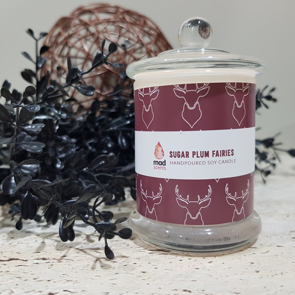 Sugar Plum Fairies Signature Candle (Petite)