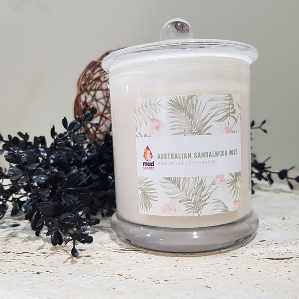 Australian Sandalwood Rose - Signature Candle (Large)