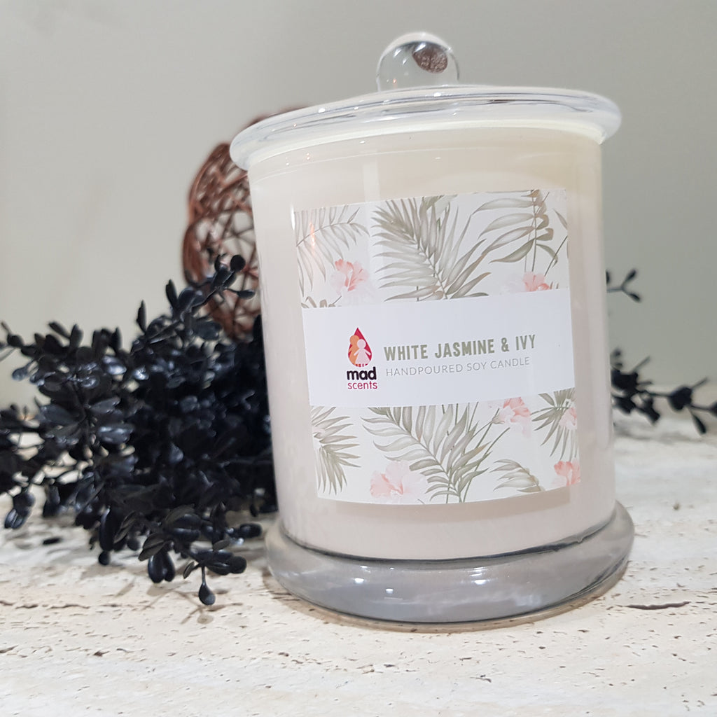 White Jasmine & Ivy - Signature Candle (Large)