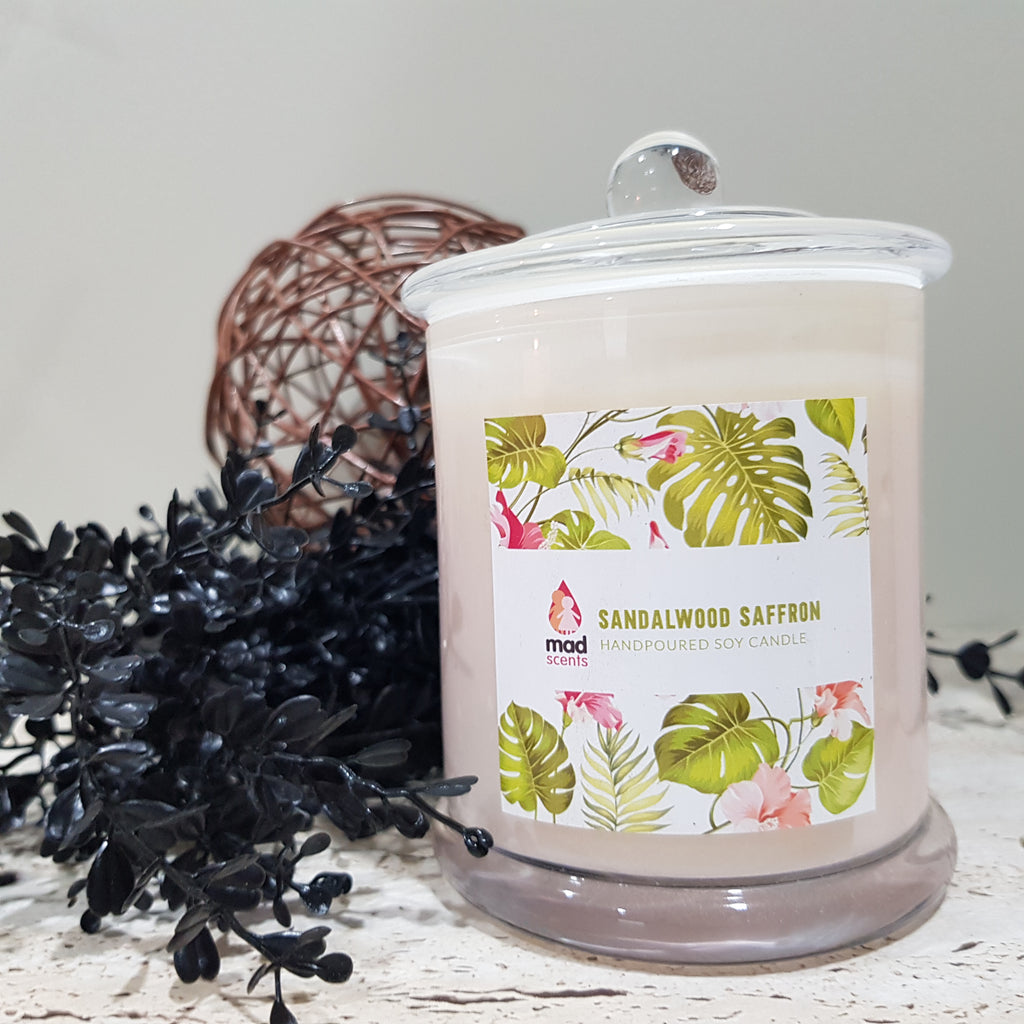 Sandalwood Saffron - Signature Candle (Large)