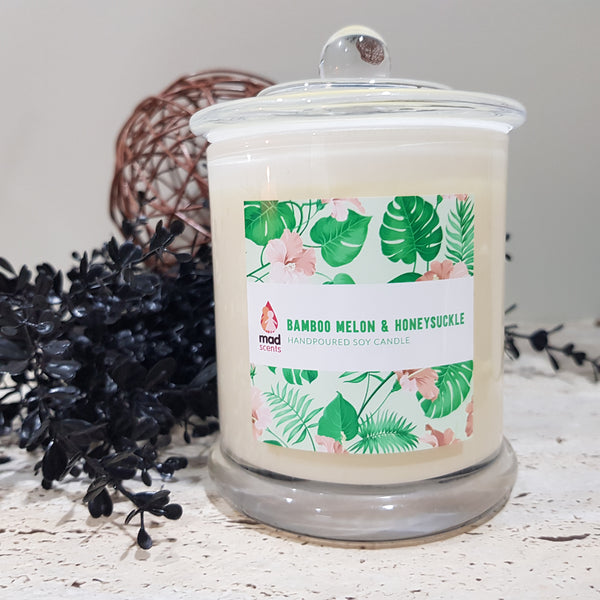 Bamboo Melon Honeysuckle - Signature Candle (Large)