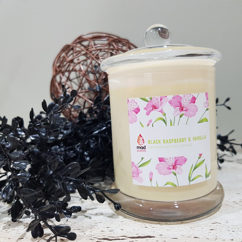 Black Raspberry & Vanilla - Signature Candle (Standard)