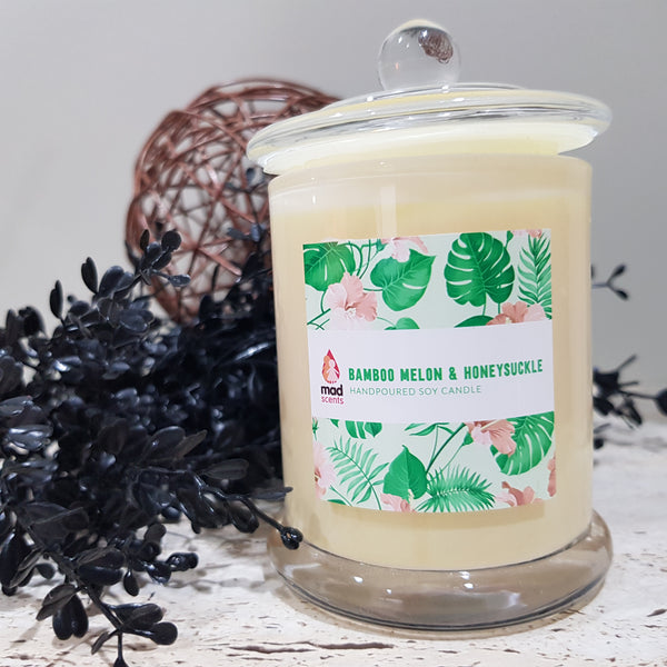 Bamboo Melon Honeysuckle - Signature Candle (Standard)