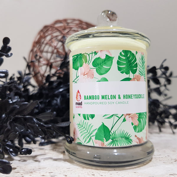 Bamboo Melon Honeysuckle - Signature Candle (Petite)