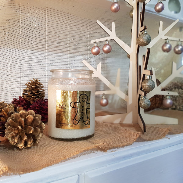Wood Wick Homestyle Candle - Gingerbread