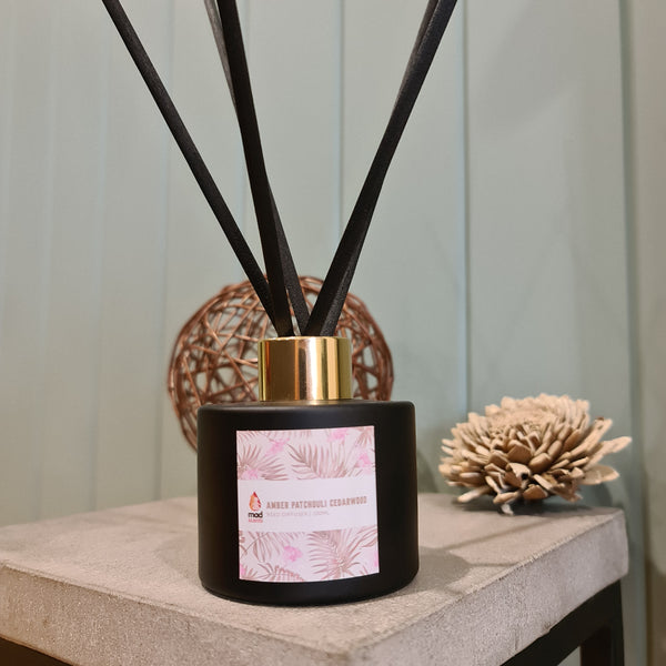 Amber Patchouli Cedarwood - Signature Reed Diffuser 120ml