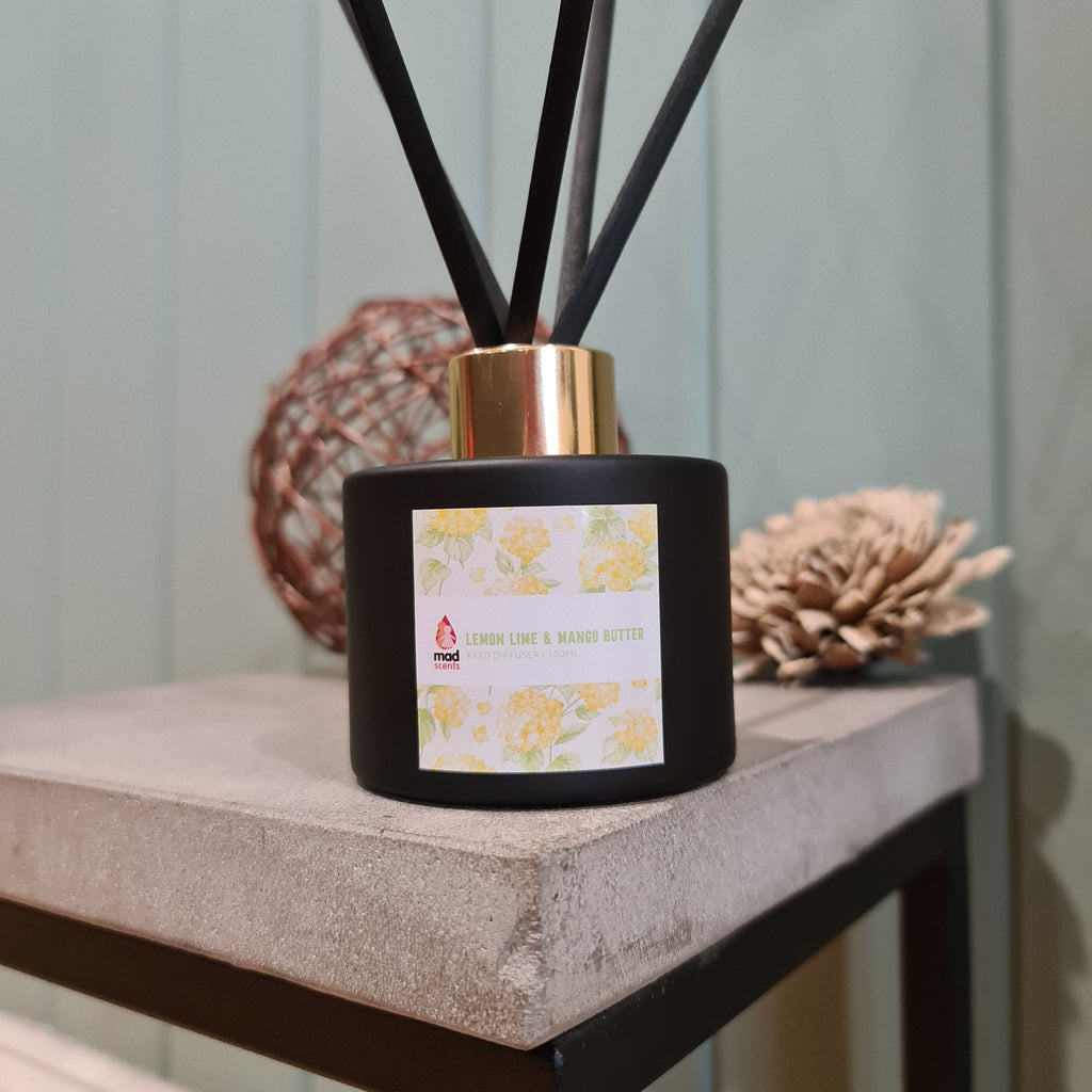 Lemon Lime & Mango Butter - Signature Reed Diffuser 120ml