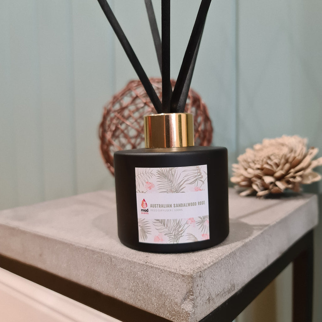 Australian Sandalwood Rose - Signature Reed Diffuser 120ml