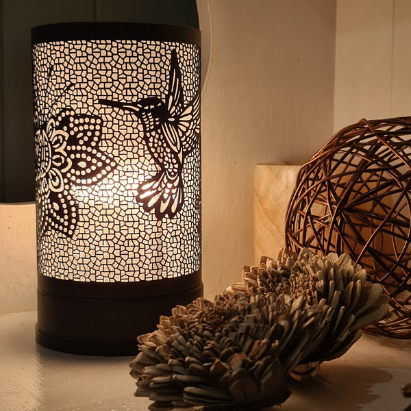 Hummingbird - Black Touch Lamp Electric Warmer