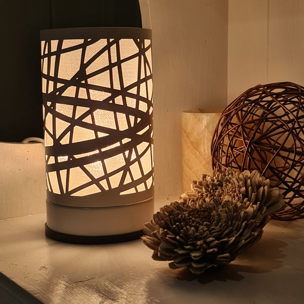 Lineya - White Touch Lamp Electric Warmer